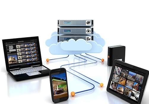 схема облачного сервиса видеонаблюдения