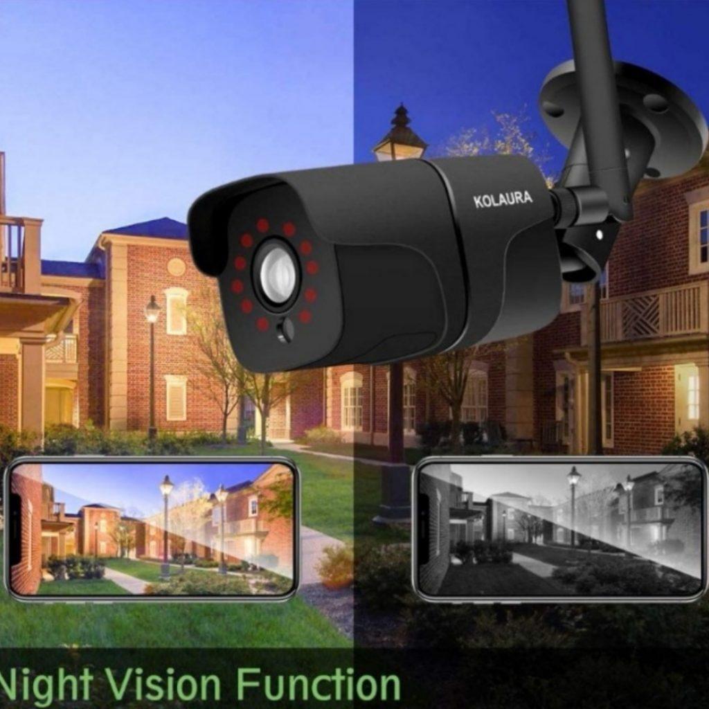 Камера видеонаблюдения с функцией ночного видения