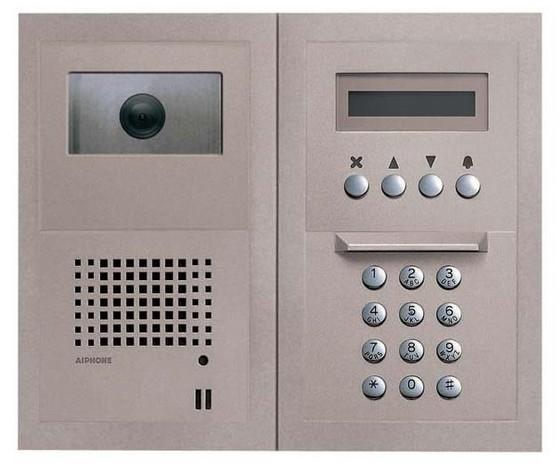 панель домофона с кнопками