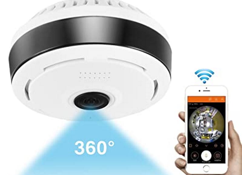 Панорамная видеокамера с поддержкой Wi-Fi. Источник фото: amazon.com
