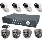 Какие бывают готовые комплекты беспроводного видеонаблюдения