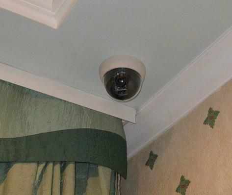 купольная камера в помещении