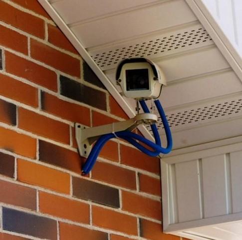 камера видеонаблюдения на даче