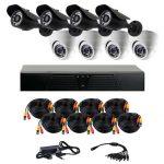 Требования к готовым комплектам наблюдения на 6-8 камер