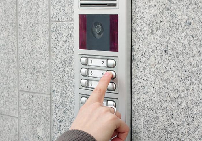Внешний блок домофона. Источник фото: vertexsecurity.com