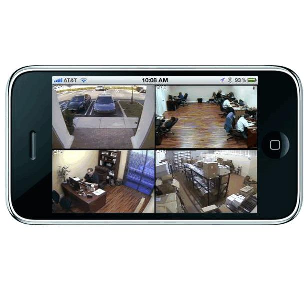 картинка видеонаблюдения через смартфон