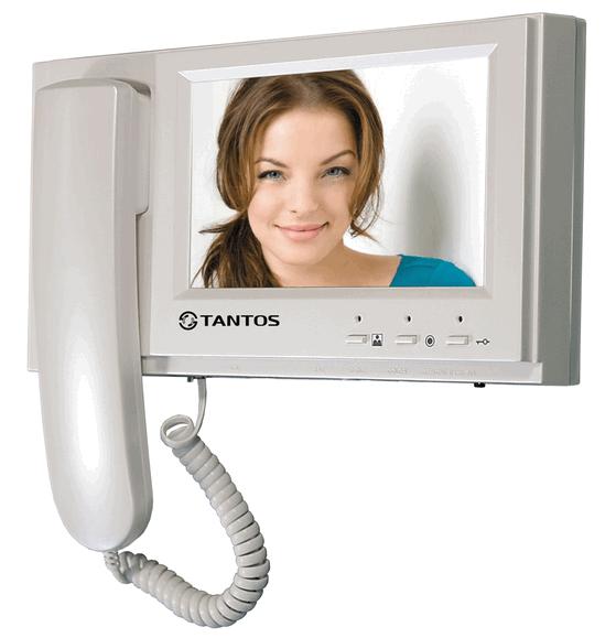 видеодомофон с цветным монитором