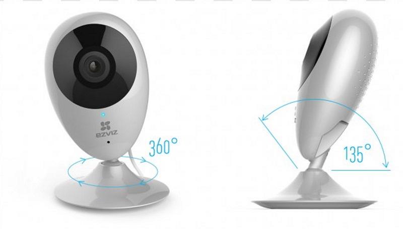 Купольная камера EZVIZ C6T. Источник фото: pnghut.com