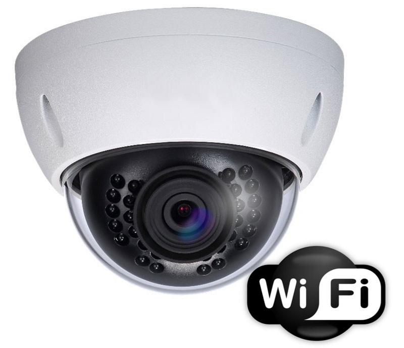 Купольная камера с WiFi. Источник фото: 123-cctv.com