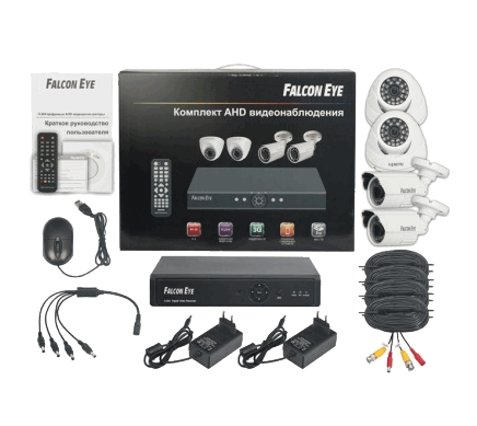 Комплект Falcon Eye FE-104AHD-KIT ОФИС