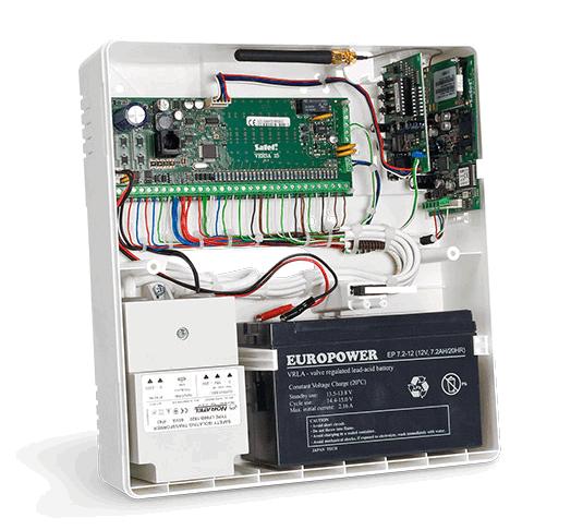 Приёмно контрольный прибор ПКП охранной сигнализации пульты  Некоторые приёмно контрольные приборы например популярный Сигнал 20 не имеют встроенного блока питания и для их подключения требуется отдельный