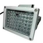 Что представляет собой ИК прожектор, и как он применяется в видеонаблюдении