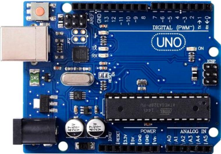 Микроконтроллер ARDUINO UNO. Источник фото: ktechnics.com