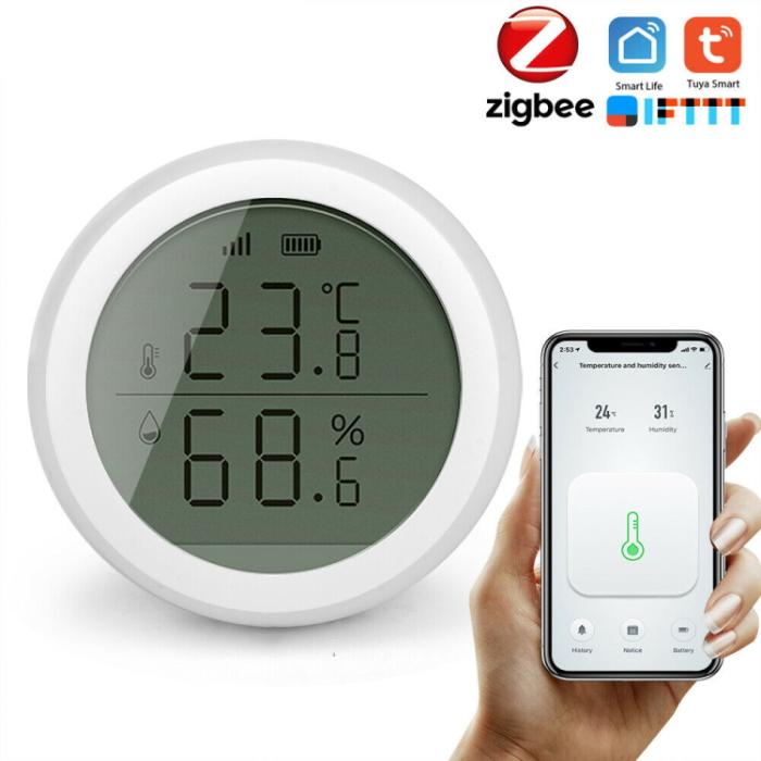 Датчик температуры и влажности для «умного дома». Источник фото: walmart.com