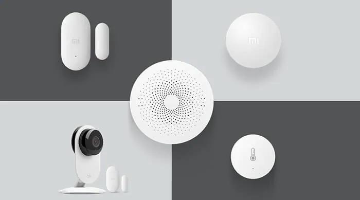 Элементы системы «Умный дом» от компании Xiaomi. Источник фото: gearbest.com
