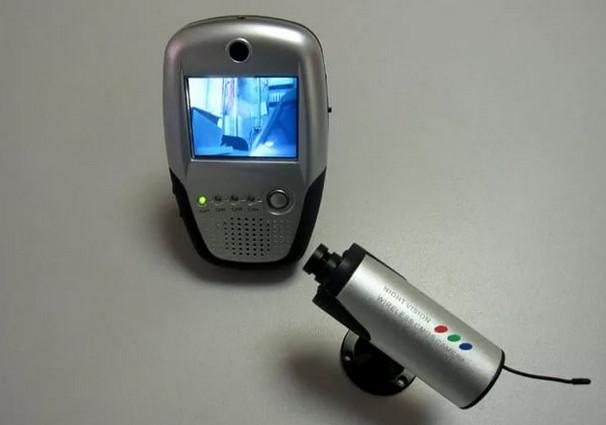 Схема для подключения камеры видеонаблюдения к