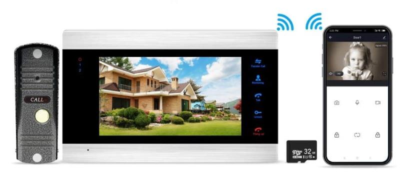 Видеодомофон с картой памяти. Источник фото: amazon.com
