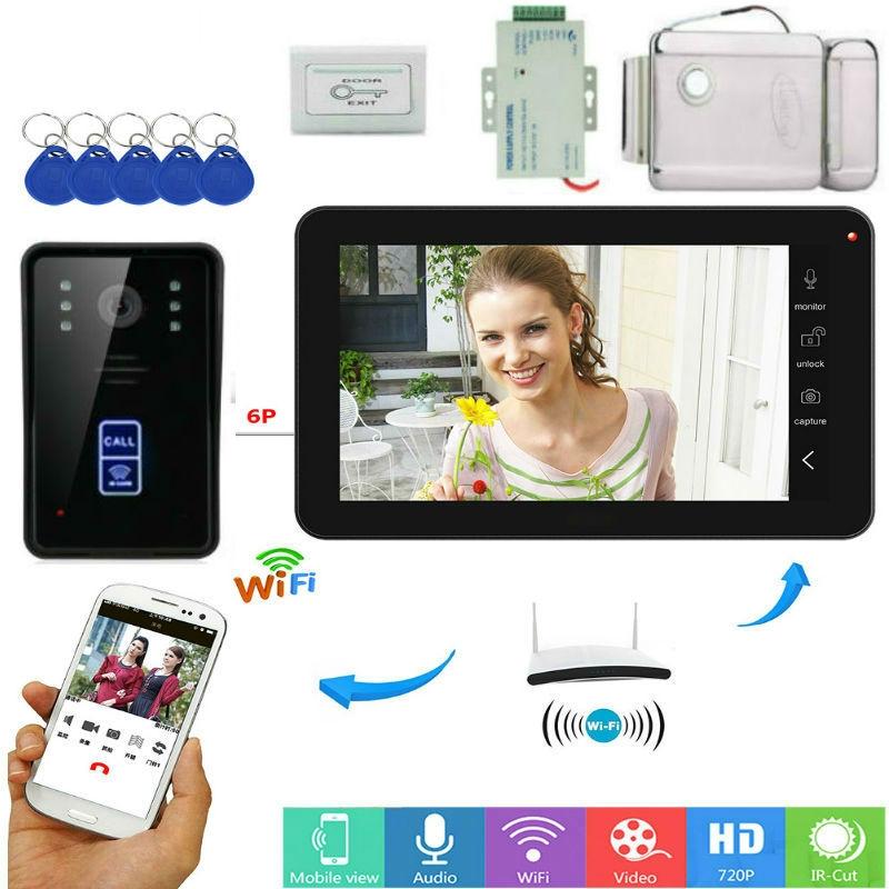 Беспроводной видеодомофон с Wi-Fi. Источник фото: ecomyshop.com