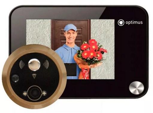 Видеоглазок для входной двери проводной беспроводной с записью
